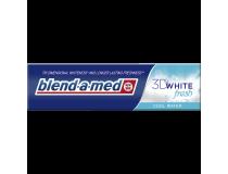 BLEND-A-MED PASTA DO ZĘBÓW 3D WHITE COOL WATER 100ML