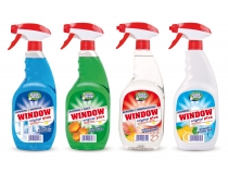 WINDOW PŁYN DO MYCIA SZYB Z ATOMIZEREM 750ML